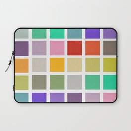 squares and rainbows Laptop Sleeve