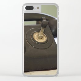 The Old Telephone Clear iPhone Case