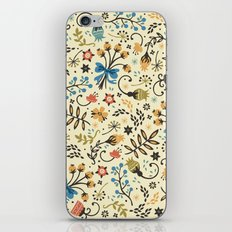 Floral Bloom iPhone Skin
