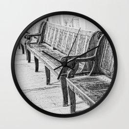 Pew Wall Clock