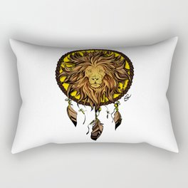 Totem animals: lion Rectangular Pillow