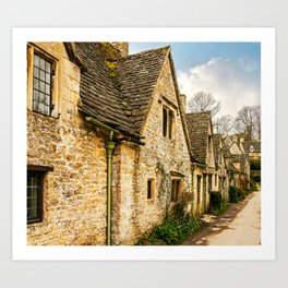 Beautiful Bibury Art Print