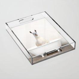 llama Bath (c) Acrylic Tray