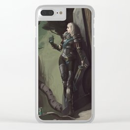 Ascension XXXIV - Lox Clear iPhone Case