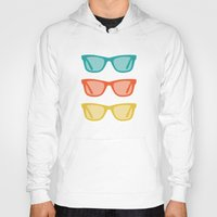 frames Hoodies featuring Ray Ban Frames Sunglasses by AleDan