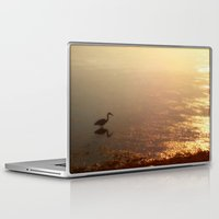 crane Laptop & iPad Skins featuring Crane by Jennifer L. Craft