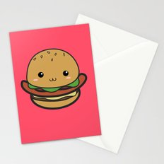 Cute Hamburguer Stationery Cards