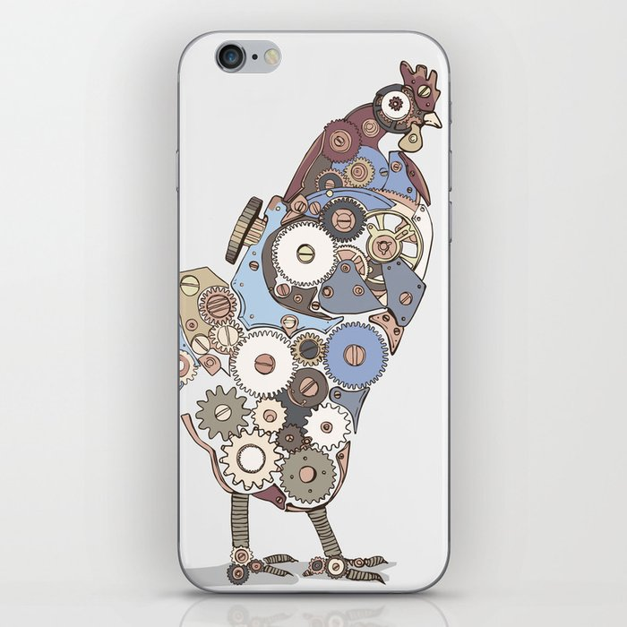 Chicken Alarm iPhone Skin