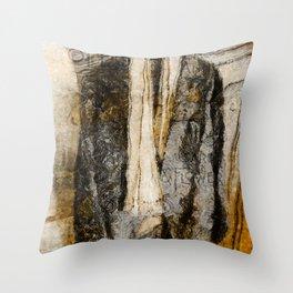 Father's Coat Throw Pillow