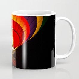 Night hot air balloon adventure Coffee Mug