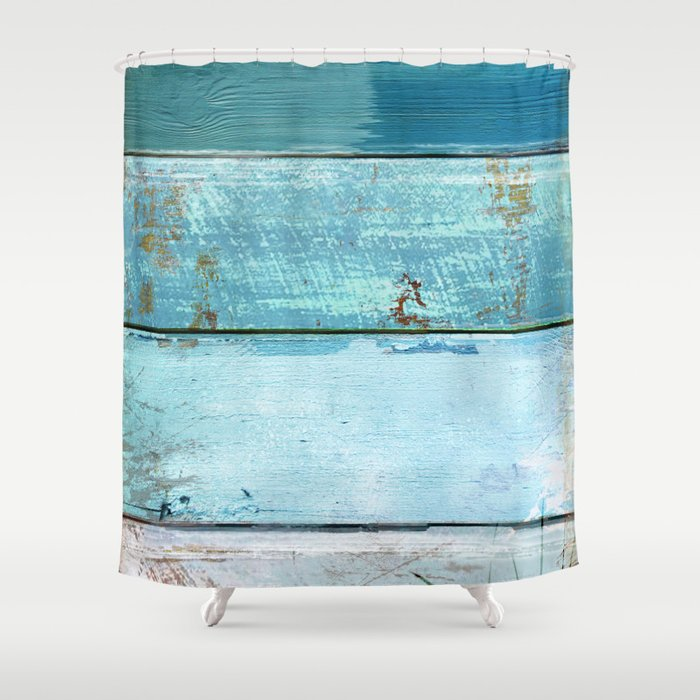 Beach Moonrise Shower Curtain