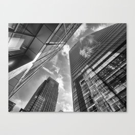 Looking Up In London Canvas Print