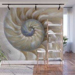 Nautilus Shell Wall Mural