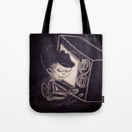 Vintage TV Tote Bag