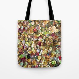 Colorful Sequins Tote Bag