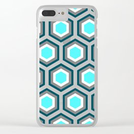 Hexagon Clear iPhone Case