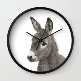 Baby Donkey Wall Clock