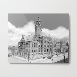 Historic Courthouse - Jefferson County Alabama - Birmingham Metal Print