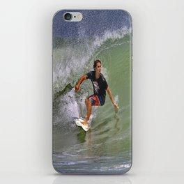 September Ponce Inlet Surfer iPhone Skin