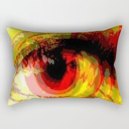 Past Vision Rectangular Pillow
