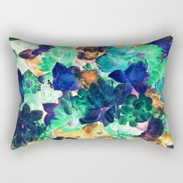 Nightflowers Rectangular Pillow