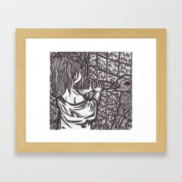 Similarities Framed Art Print