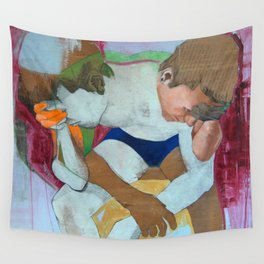 Nausea Wall Tapestry