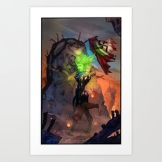 Anne  Frankenstein - Book I Art Print