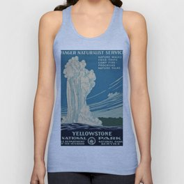 Yellowstone Works Progress Administration Unisex Tank Top