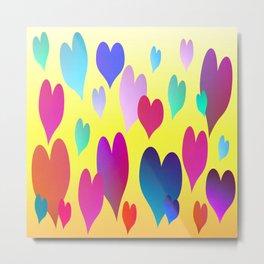 Hearts get Lighter (sunny) Metal Print
