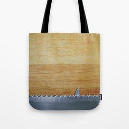 Shark infested breadboard Tote Bag