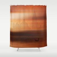 venice Shower Curtains featuring Venice by Fine2art