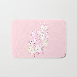 Prickly Pink Cactus Bath Mat