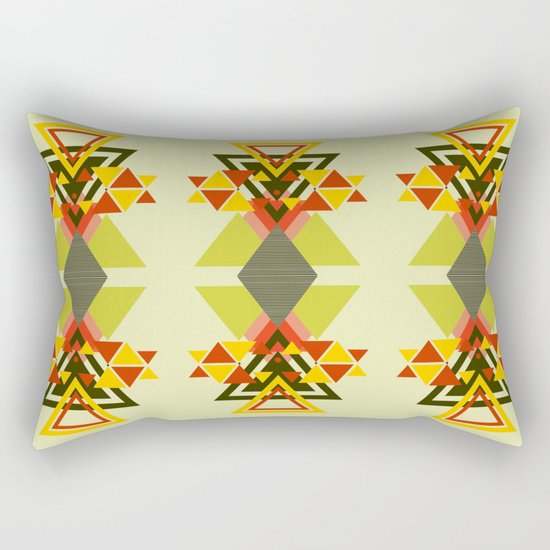 MOUNTAINS THROUGH MOUNTAINS  Rectangular Pillow