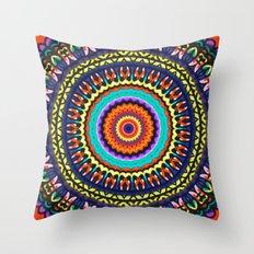 Kaleidoscope Wonderland Throw Pillow