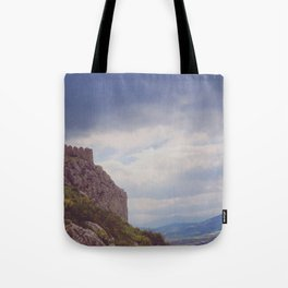 Corinthian Skies Tote Bag