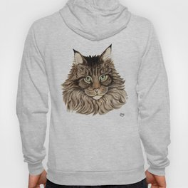Maine Coon Cat-  Cats By Nina Lyman Hoody