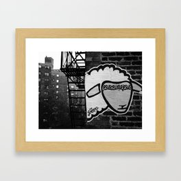 Je suis... Framed Art Print