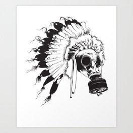 GasMax Chieftain Art Print