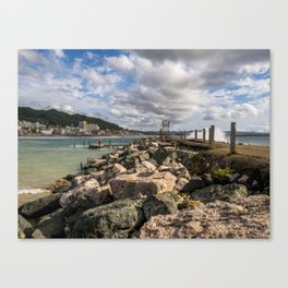 Aguadila coast 3 Canvas Print