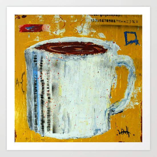 Cup of Coffee 1 Art Print