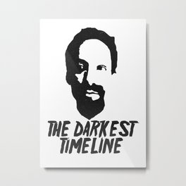 Greendale Community's Evil Abed: The Darkest Timline Metal Print