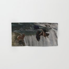 The Gathering Place - Wildlife Scene Hand & Bath Towel