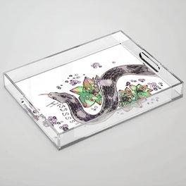 Hissssss Acrylic Tray