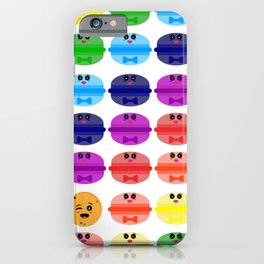 surprising macaron pattern iPhone Case