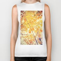 be happy Biker Tanks featuring Happy by Olivia Joy StClaire
