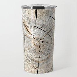 Wood Cut Travel Mug