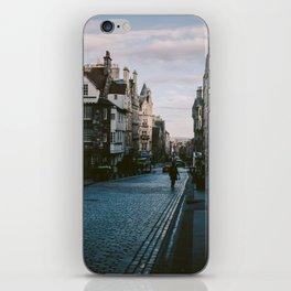 The Royal Mile in Edinburgh, Scotland iPhone Skin