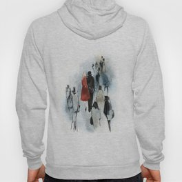 Love Story n.3 - In a Crowd Hoody