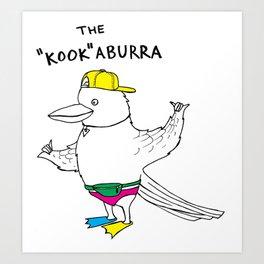 "The ""Kook""aburra Art Print"